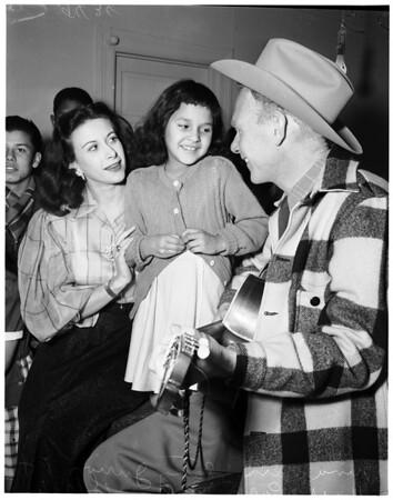 Mickey Finn Christmas Party, 1951