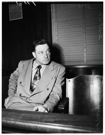 Burton ...Murder preliminary hearing, 1952