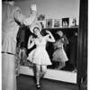 Deaf tap dancing child, 1951