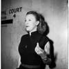 Wassil murder preliminary, 1952