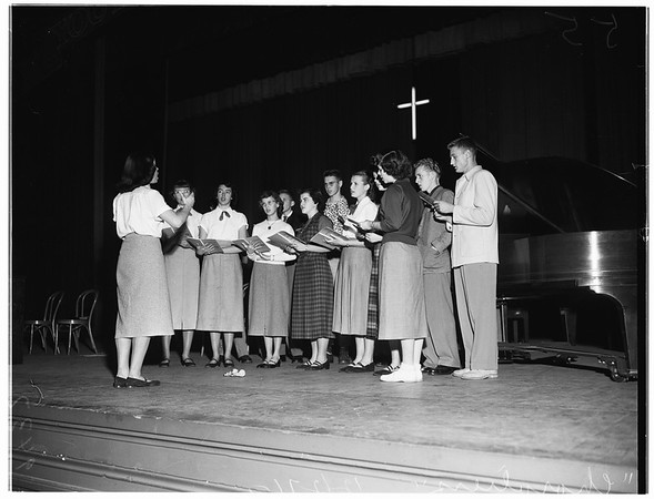 Youth For Christ (2nd Annual Bible Club Conference, Long Beach Municipal Auditorium), 1951