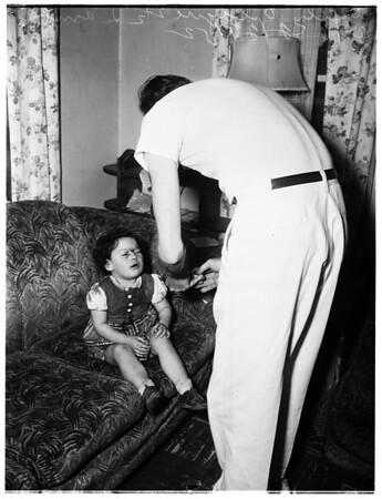Dog bite, 1952