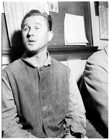 Ex-Sennet beauty killing story, 1952