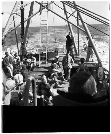 Scripps Institute cruise, 1952