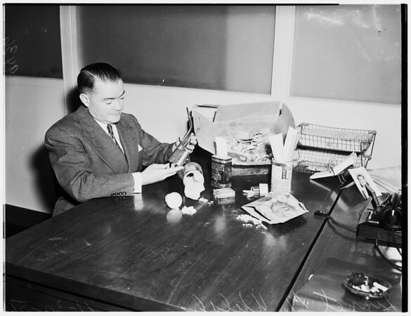 Chino Narcotics (John R. Waid Case), 1951