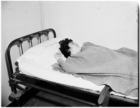 Attempted suicide, 1951