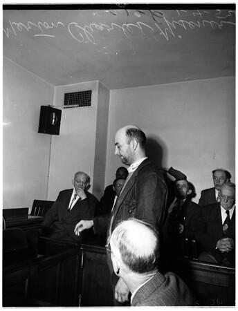 Double murder, 1952