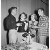 Immaculate Heart Convent halloween party, 1951