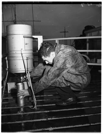 Weather Bureau at International Airport, 1952
