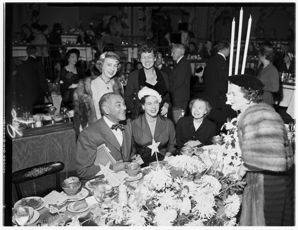 Opera Guild Luncheon, 1951