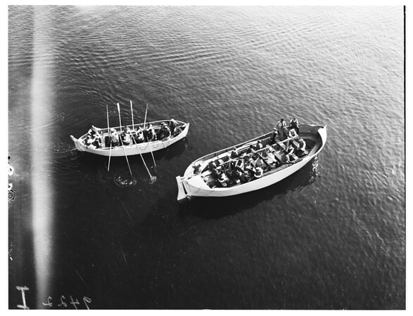 S. S. President Wilson ...lifeboat drills, 1951