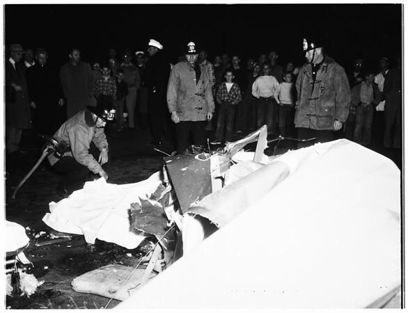 Plane crash kills two, 1951
