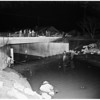 Drag creek bed for two missing boys (Charnock Avenue Bridge), 1952