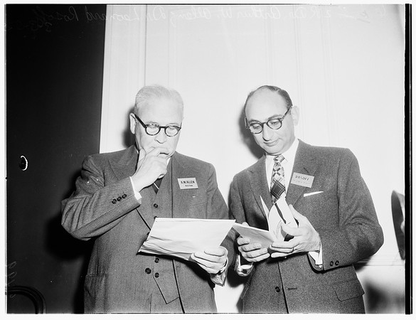 Surgical forum (Ambassador Hotel), 1952