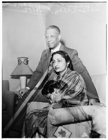 Indian Ambassador, 1952