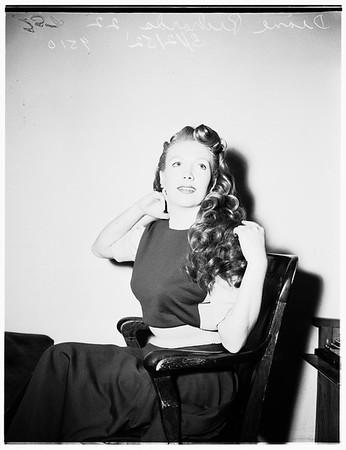 Divorces composer, John Sentesi, 31, 1952