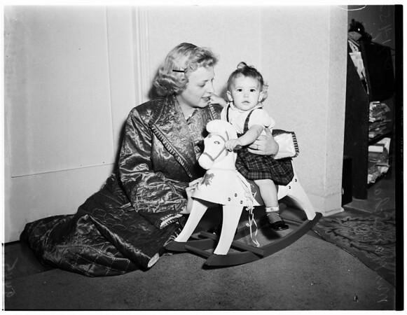 Serviceman's family (4554 Ellenwood Drive), 1952