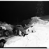 Snow on  Angeles Crest Highway, 1952