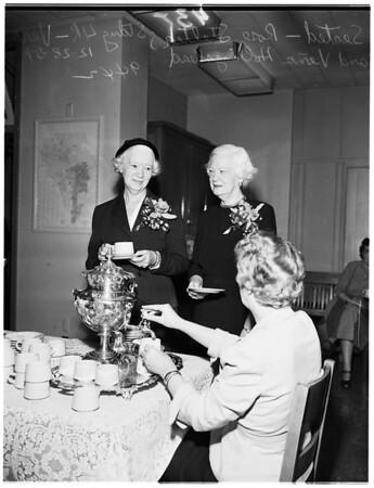 Board of Education reception, 1951