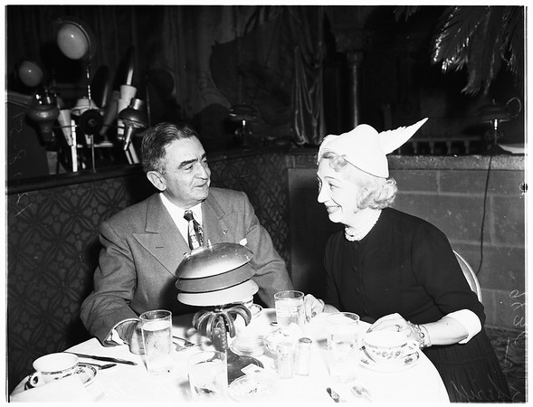Naval luncheon, 1951