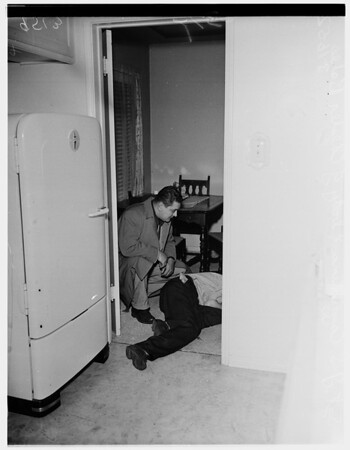 Shooting and murder, 1952