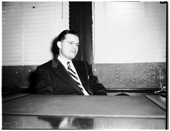 New secretary for Presbyterians, 1952