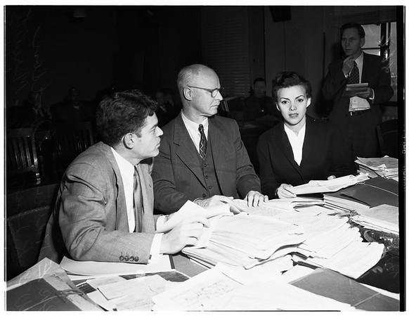 Meredith story, 1952