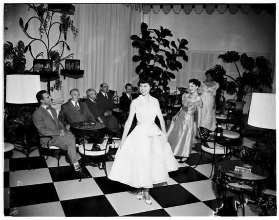 World Trade Week dance, 1952.