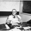 Promotion in rank ...sporting huge oak leaves on shoulders, 1951