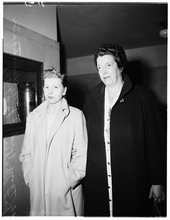 Perjury, 1952