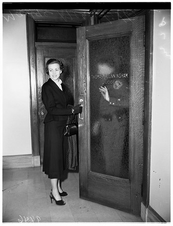 Forcible entry suit, 1952