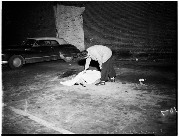 Suicide ...608 West Pico Boulevard, 1951