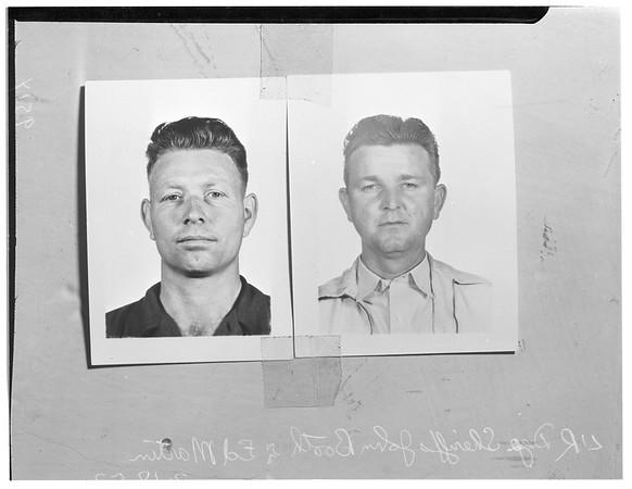 Lost Deputy Sheriffs (lost in Bickmore Canyon), 1952