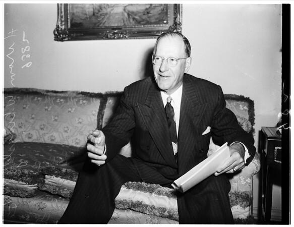 Appointee To School Board, 1951
