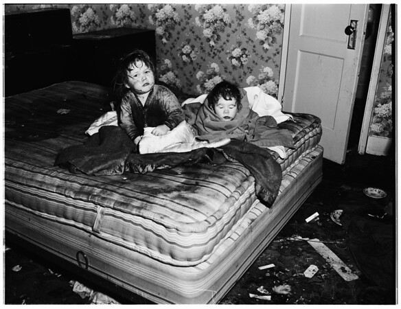 Children neglect (San Pedro) 435 West 16th Street, 1952
