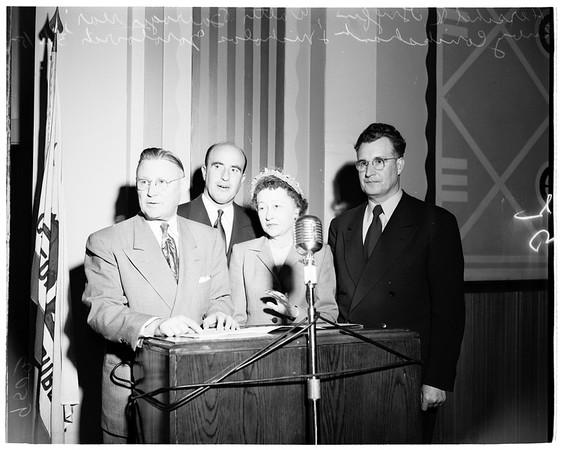 Board of Education, 1952