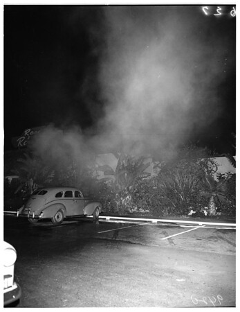 Fire at 7860 Beverly Boulevard, 1951