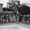 Chi Omega Junior Alumnae Fashion Show Benefit, 1951