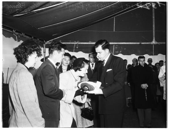 Paulsen funeral, 1952