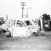 Auto versus train (Reseda Boulevard and Parthenia Street, Northridge), 1952