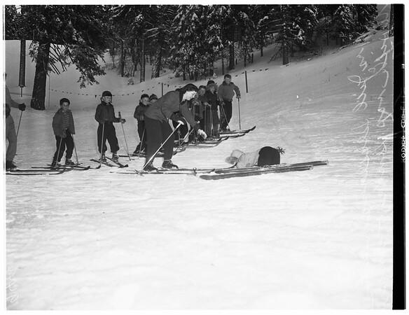Ski School, 1952