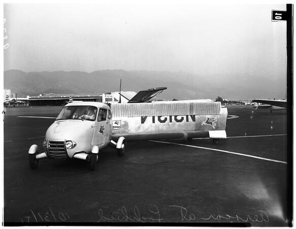 Aerocar Flies at Lockheed, 1951