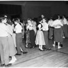 Young Women's Christian Association ...8th grade Junior High School hop, Glendale, 1951