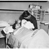 Births ...baby born at Hollywood Receiving Hospital, after mother lost race with stork ..she was en route to another hospital, 1951