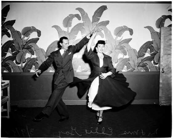 Dancing Teachers ...Hollywood Roosevelt Hotel, 1952