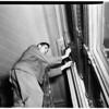 Bank holdup at 7th Street and Broadway Bank of America, 1951