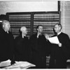 Municipal Court Judges inducted, 1952