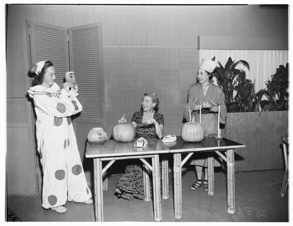 Santa Monica Swim Club Halloween, 1951