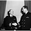 Navy Purchasing Head Retires, 1951
