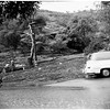 Rain damage, Benedict Canyon Drive and Beverly Glen Boulevard, 1952